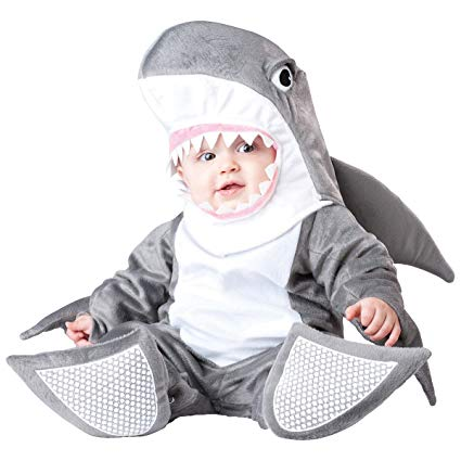 SILLY SHARK COSTUME FOR BABIES