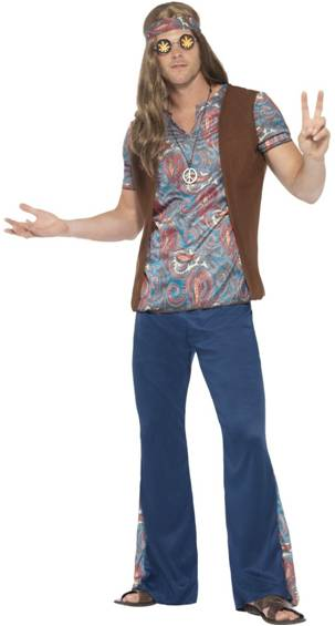 1960s ORION THE HIPPIE COSTUME FOR MEN