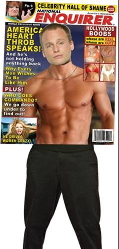 MAGAZINE COVER-ENQUIRER MALE