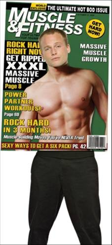 MAGAZINE COVER-MUSCLE AND FITNESS