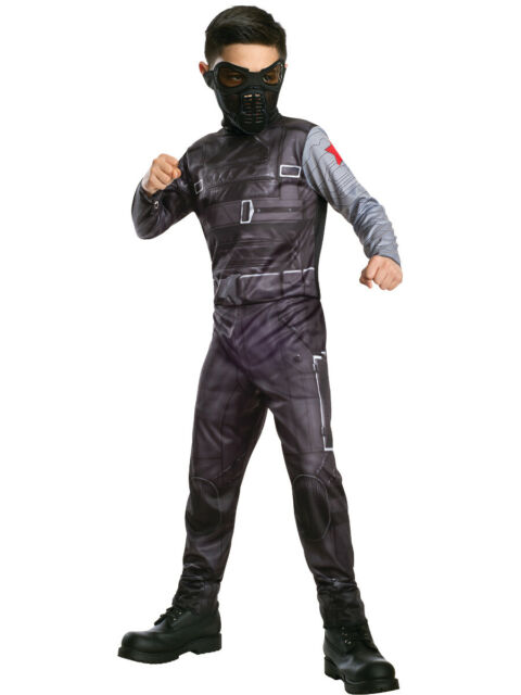 AVENGERS PROMO WINTER SOLDIER COSTUME FOR BOYS