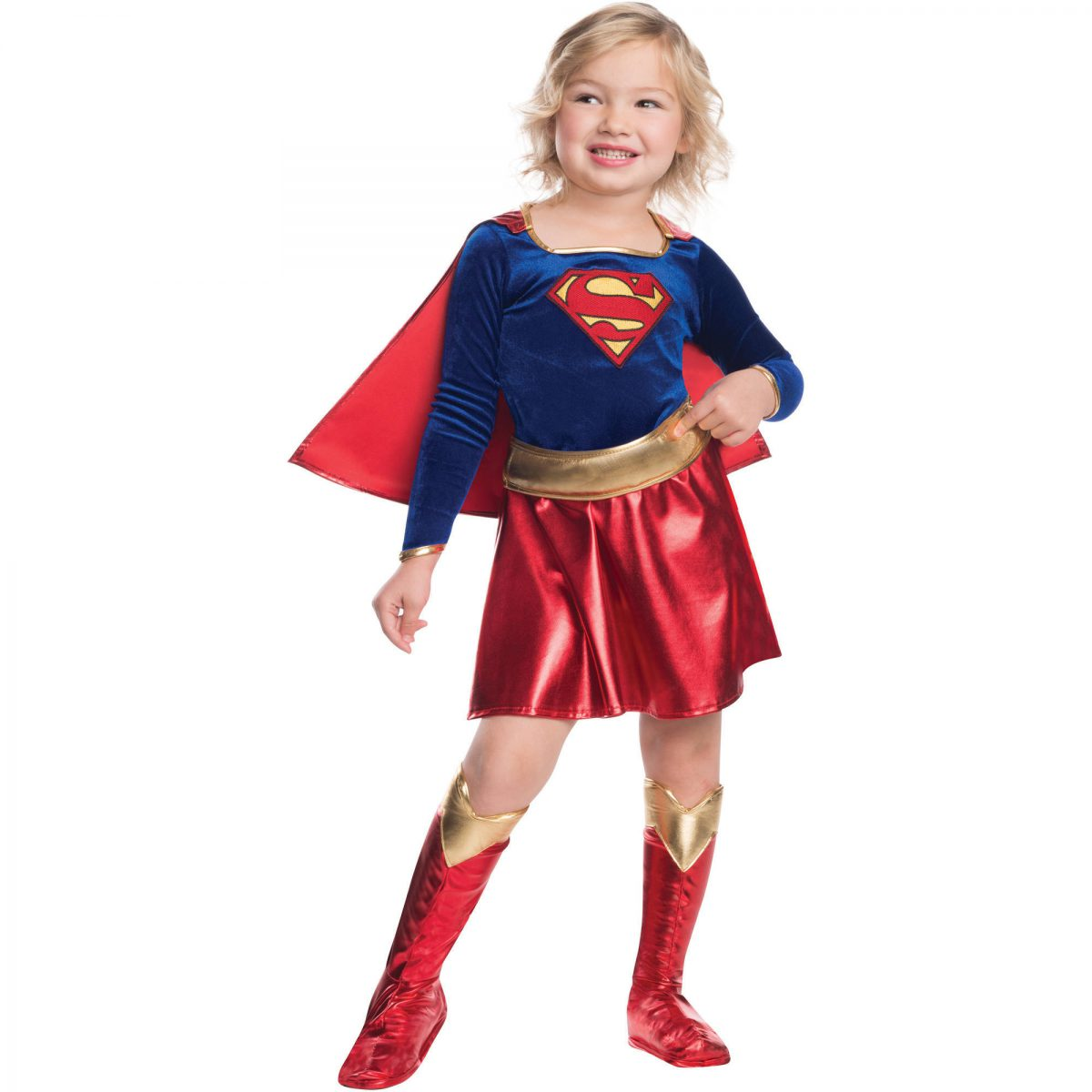 DELUXE SUPERGIRL COSTUME FOR GIRLS