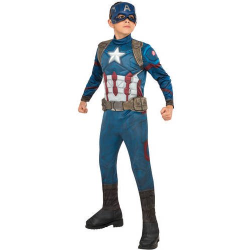 AVENGERS DELUXE CAPTAIN AMERICA COSTUME FOR BOYS