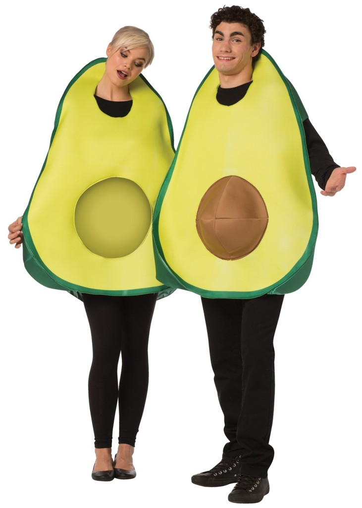 AVOCADO COUPLE COSTUME FOR ADULTS