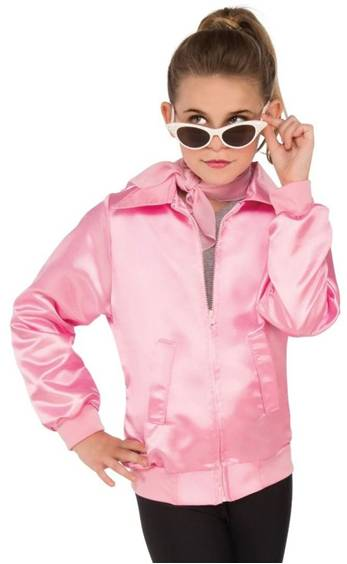 GREASE PINK LADIES JACKET FOR GIRLS