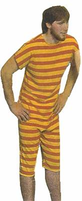 1920'S MEN'S BATHING SUIT
