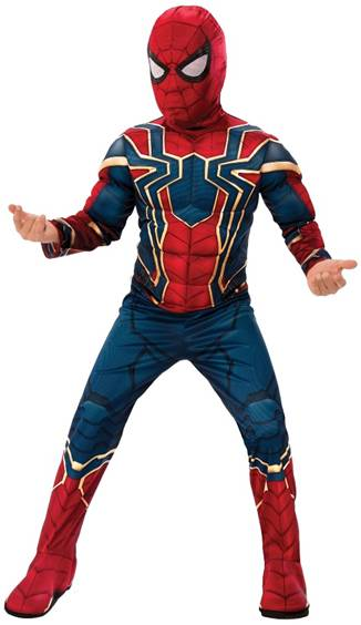 AVENGERS IRON SPIDER-MAN COSTUME FOR BOYS