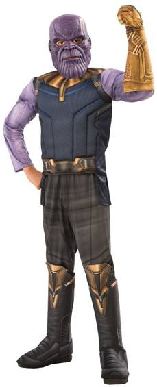 AVENGERS:INFINITY WAR THANOS COSTUME FOR BOYS
