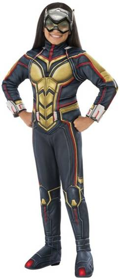 DELUXE ANT-MAN'S THE WASP COSTUME FOR GIRLS