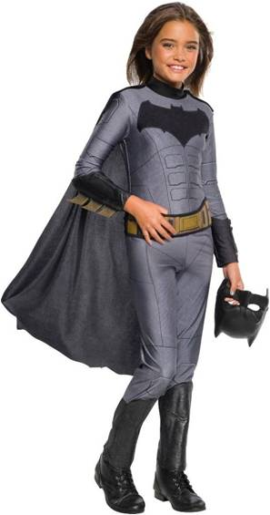 JUSTICE LEAGUE GIRL BATMAN COSTUME FOR GIRLS