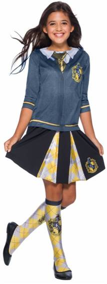HARRY POTTER HUFFLEPUFF TOP FOR GIRLS