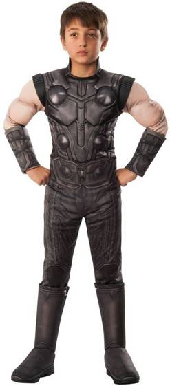 AVENGERS INFINITY WAR THOR COSTUME FOR BOYS
