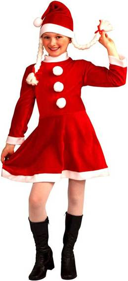 LITTLE MISS SANTA'S HELPER