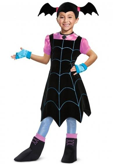 DELUXE VAMPIRINA COSTUME FOR GIRLS