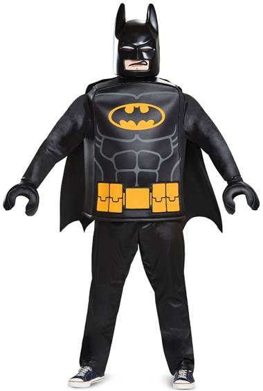 DELUXE LEGO BATMAN COSTUME FOR MEN