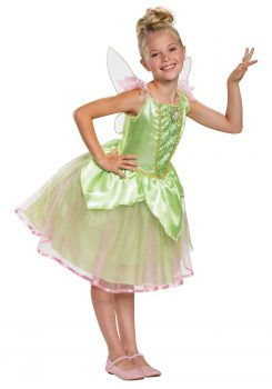 DISNEY'S PETER PAN'S TINKERBELL COSTUME FOR GIRLS