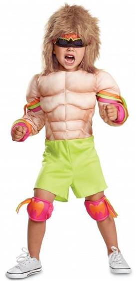 WWE ULTIMATE WARRIOR COSTUME FOR BOYS