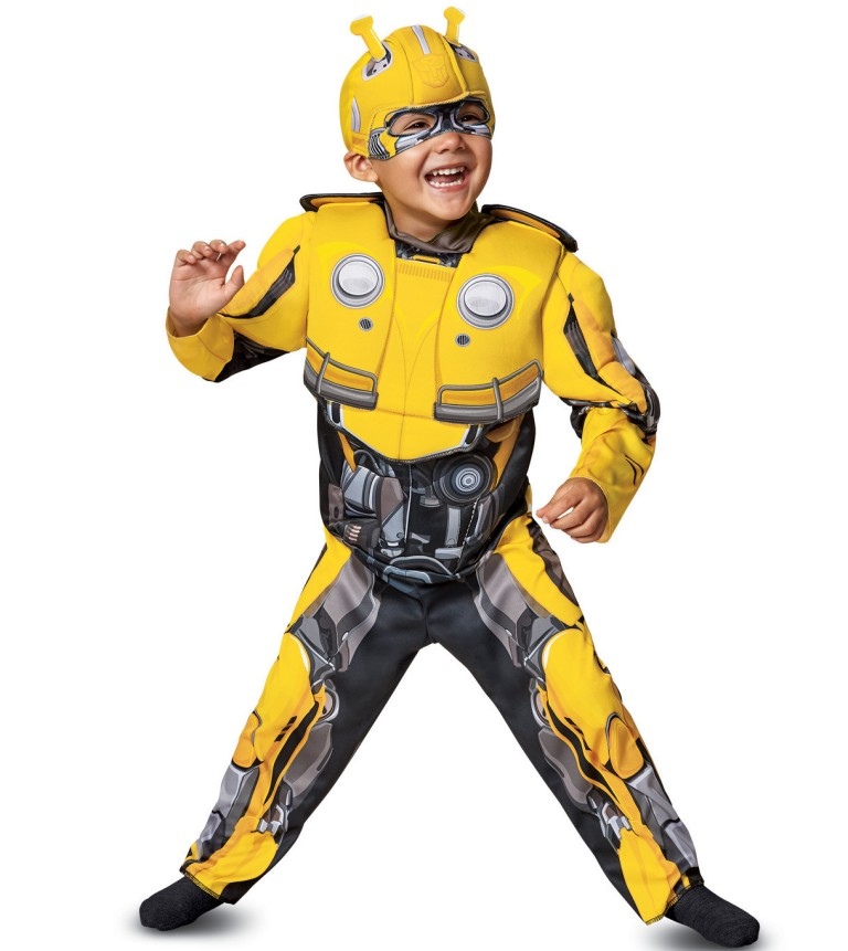 CLASSIC MUSCLE BUMBLEBEE COSTUME FOR TODDLER BOYS