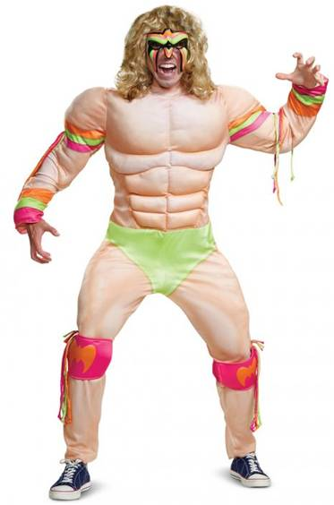 WWE ULTIMATE WARRIOR COSTUME FOR MEN