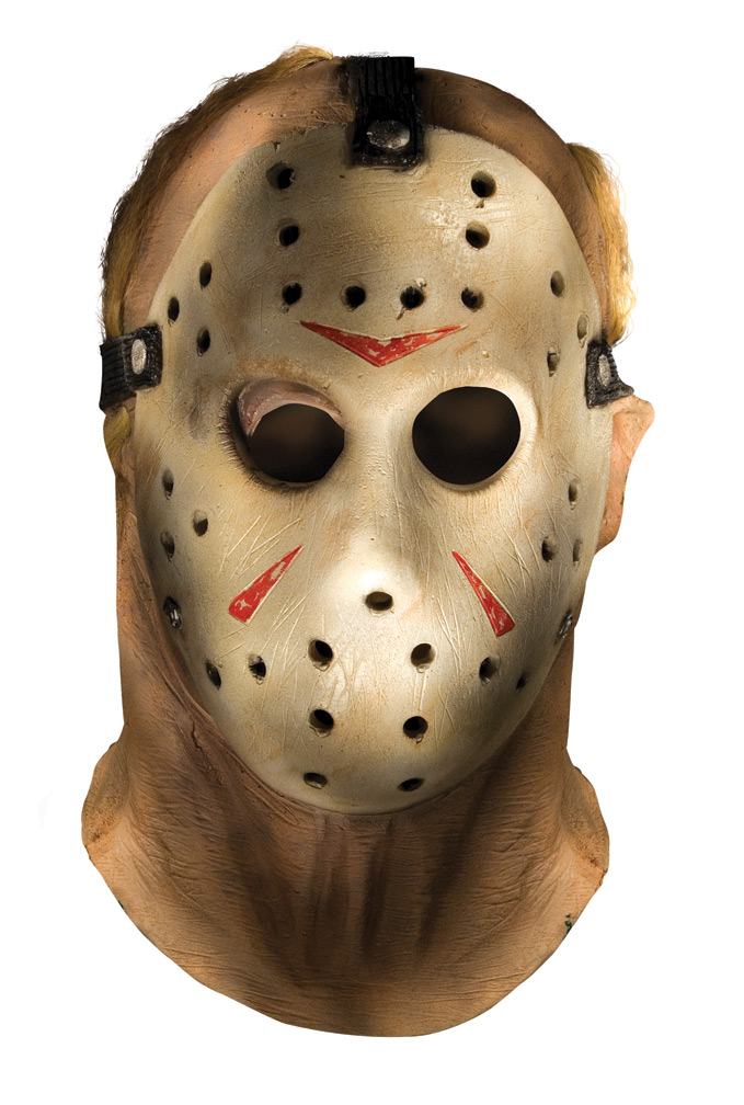 FRIDAY THE 13TH JASON DELUXE OVERHEAD ADULT MASK