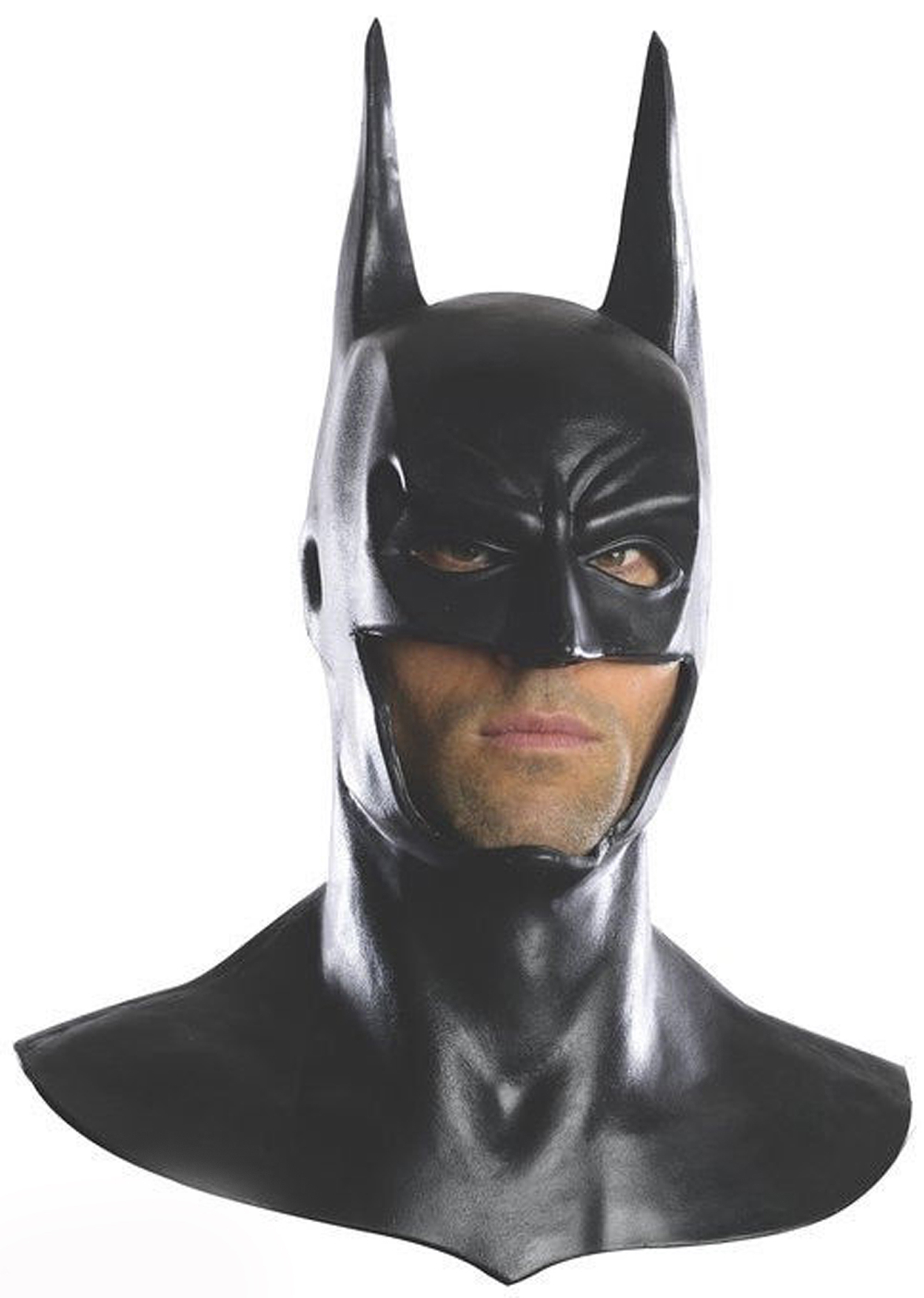 DELUXE BATMAN COWL MASK FOR ADULTS