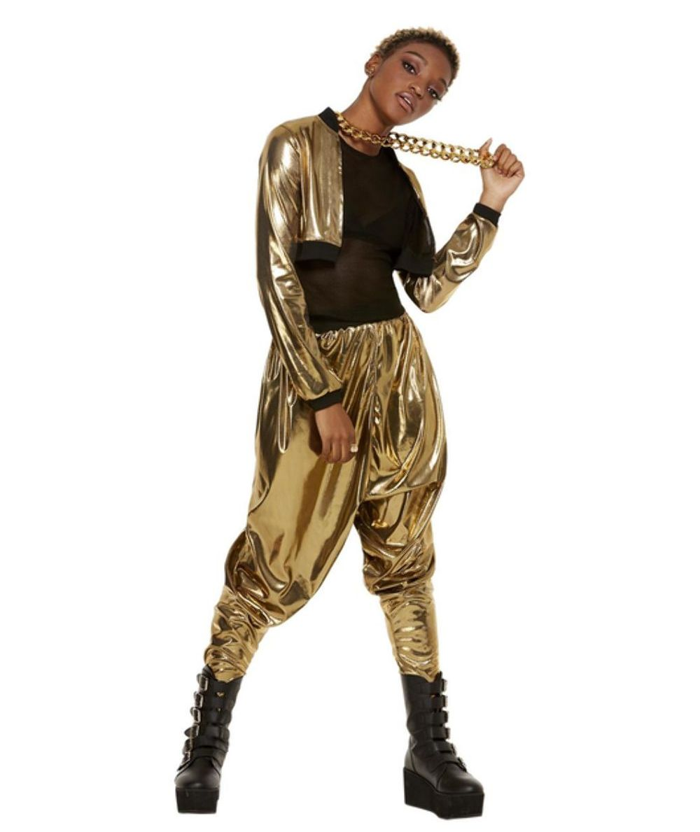 HAMMER TIME MC HAMMER COSTUME FOR WOMEN