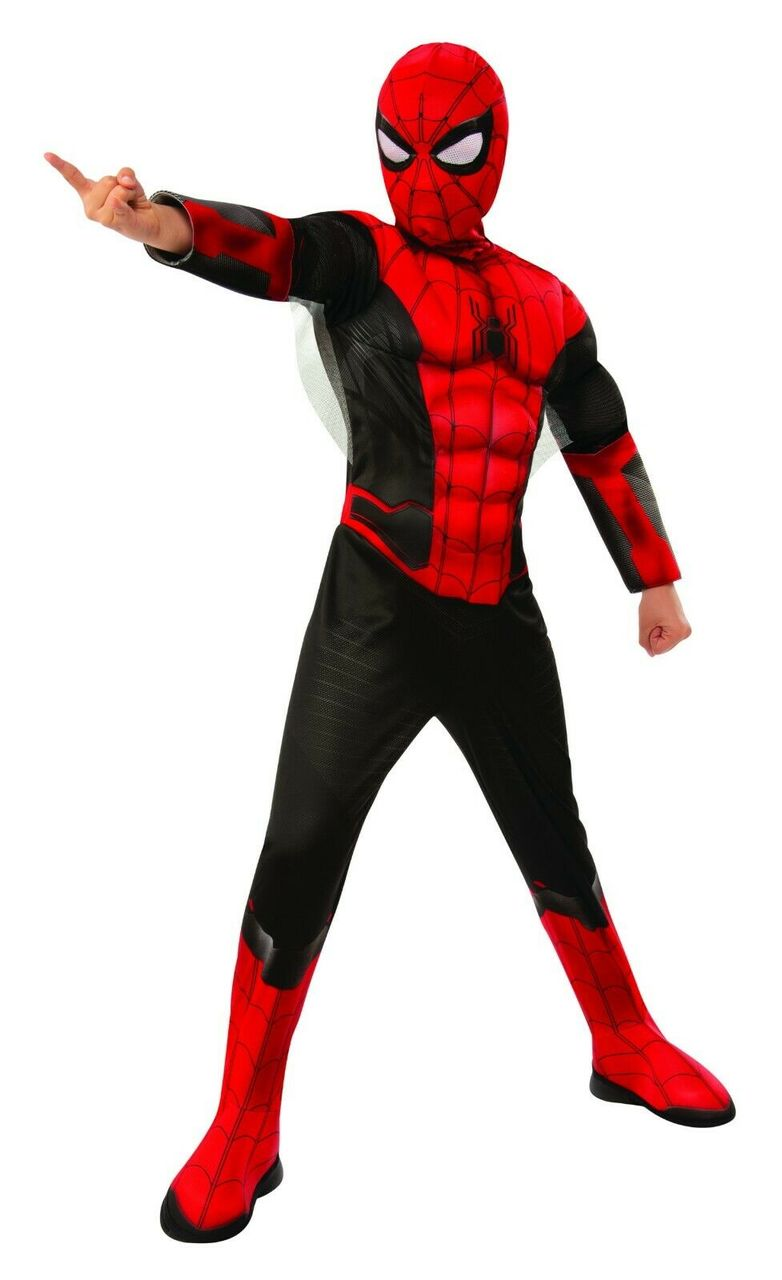 DELUXE SPIDER-MAN COSTUME FOR BOYS