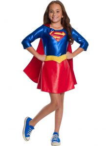 DC SUPERHEROES SUPERGIRL COSTUME FOR GIRLS