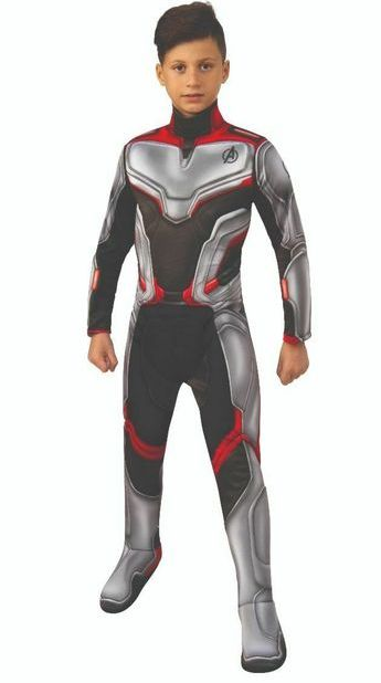 AVENGERS UNISEX TEAM SUIT COSTUME FOR KIDS
