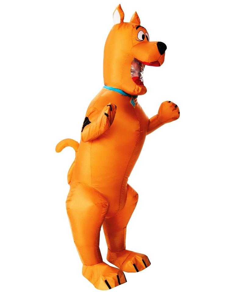 INFLATABLE SCOOBY DOO COSTUME FOR ADULTS