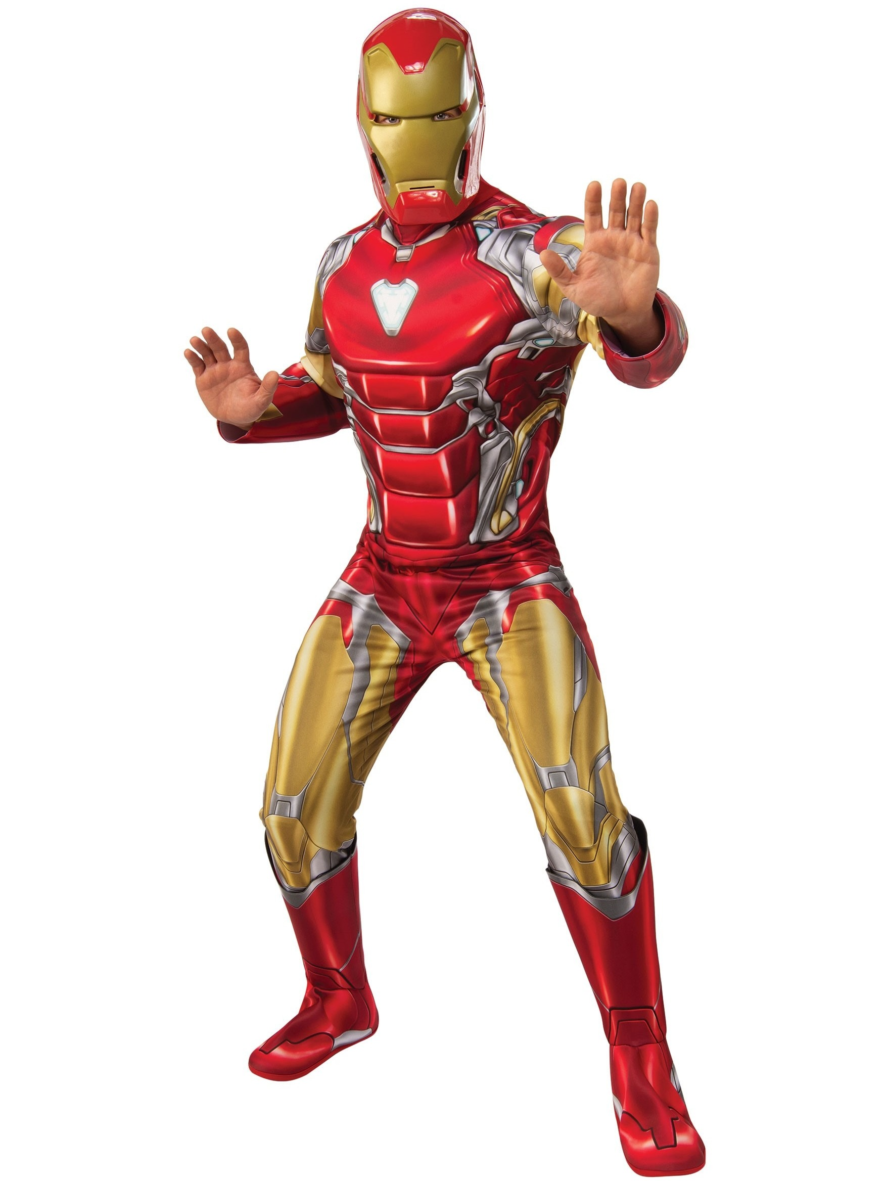 DELUXE MUSCLE CHEST IRON MAN COSTUME FOR MEN