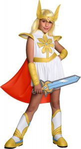 MASTERS OF THE UNIVERSE DELUXE SHE-RA COSTUME
