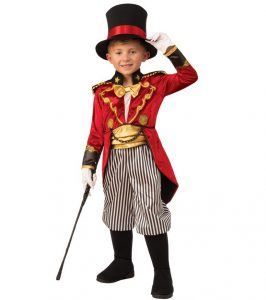 GREATEST SHOWMAN RINGMASTER COSTUME FOR BOYS