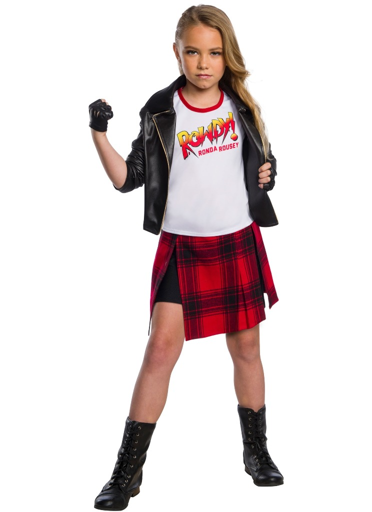 WWE ROWDY RONDA ROUSEY COSTUME FOR GIRLS