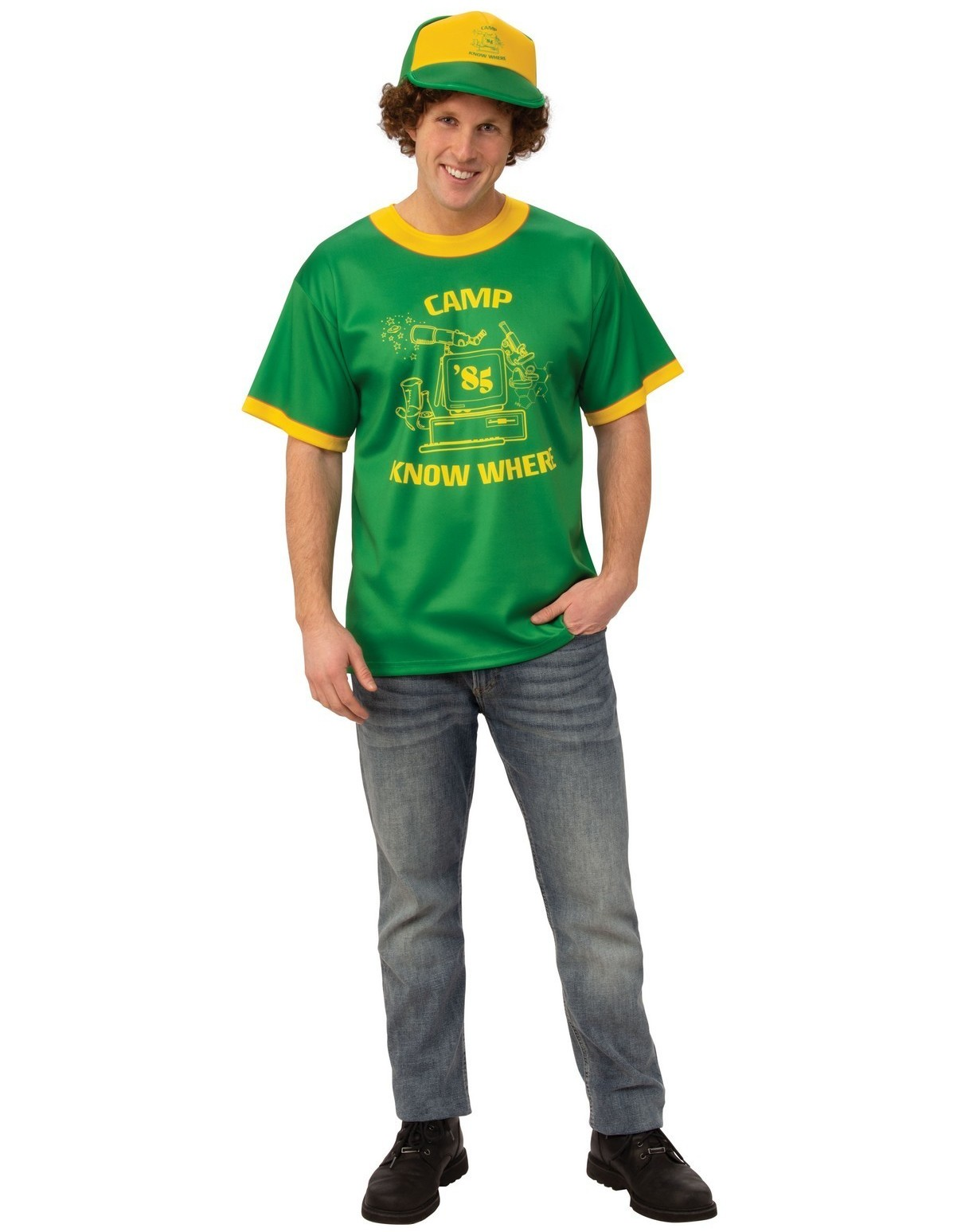 Child and Adult Sizes Stranger Things Camp Waupaca Dustin Shirt