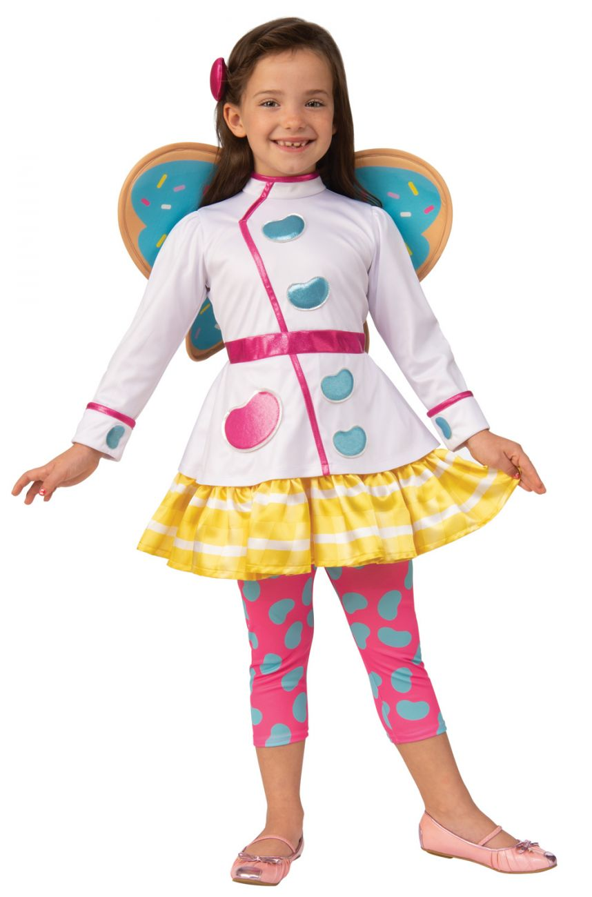 BUTTERBEAN'S CAFE BUTTERBEAN COSTUME FOR GIRLS