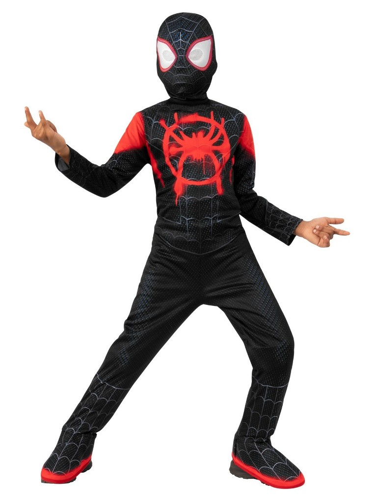 SPIDERVERSE CLASSIC MILES MORALES COSTUME FOR BOYS