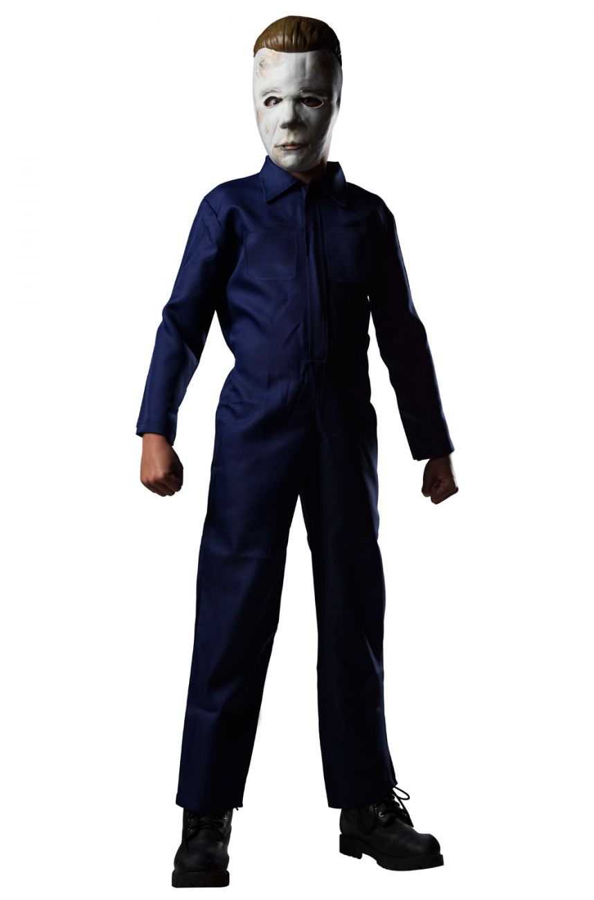 HALLOWEEN DELUXE MICHAEL MYERS COSTUME FOR BOYS