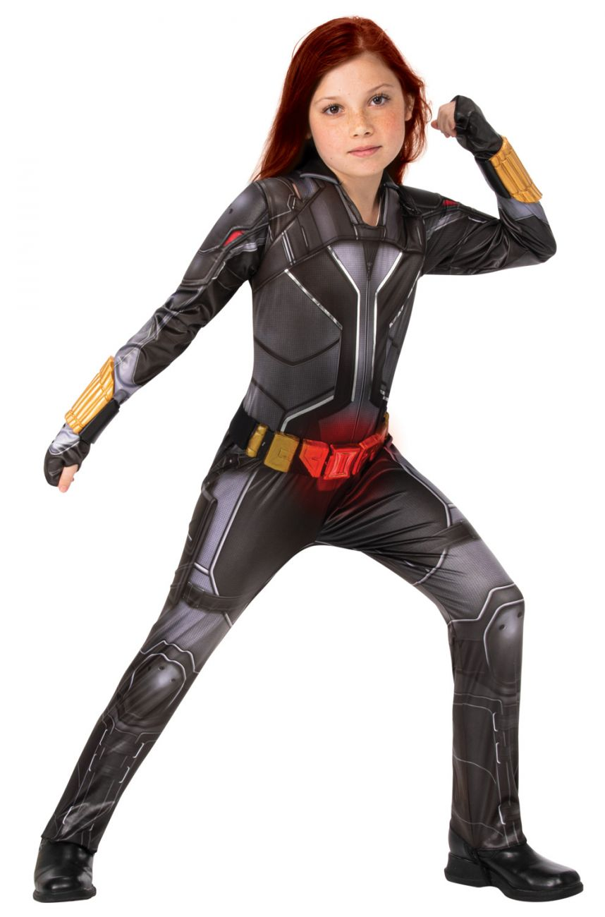 AVENGERS DELUXE BLACK WIDOW COSTUME FOR GIRLS