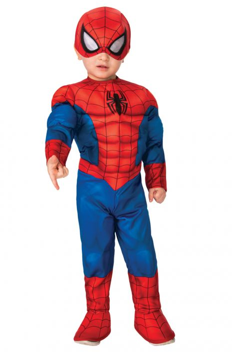DELUXE SPIDER-MAN COSTUME FOR TODDLERS BOYS
