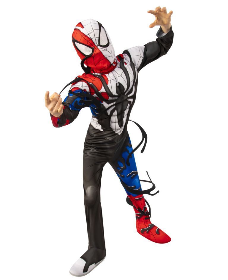 DELUXE VENOMIZED SPIDER-MAN COSTUME FOR BOYS