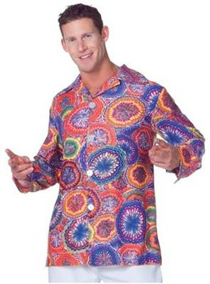 70s PSYCHEDELIC SHIRT