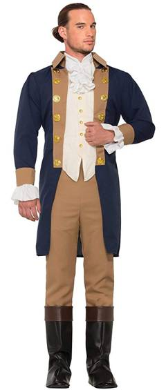COLONIAL OFFICER COSTUME FOR MEN