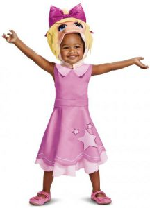 MUPPETS MISS PIGGY COSTUME FOR GIRLS