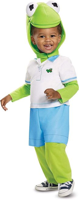 THE MUPPETS KERMIT THE FROG COSTUME FOR KIDS