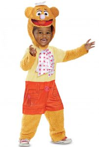 MUPPETS FOZZIE BEAR COSTUME FOR BOYS