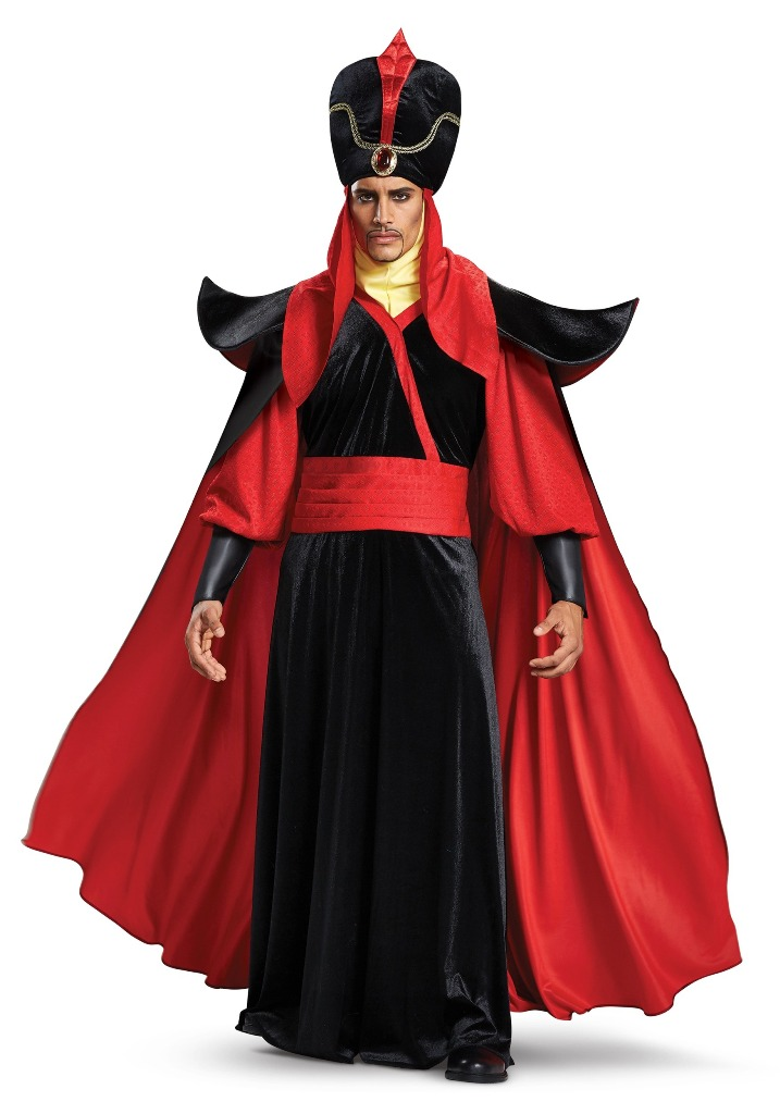 DISNEY'S ALADDIN'S DELUXE JAFAR COSTUME FOR MEN