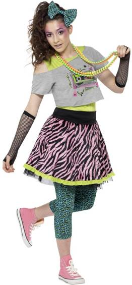 80s WILD CHILD COSTUME FOR WOMEN