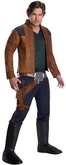 DELUXE HAN SOLO COSTUME FOR MEN