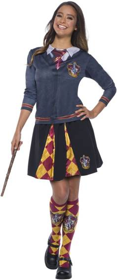 HARRY POTTER GRYFFINDOR TOP FOR WOMEN